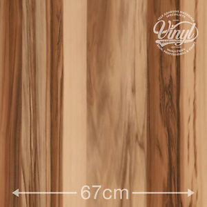 67cm Walnut Baltimore Tobacco Wood Sticky Vinyl Fablon (200-8422) from 1 to 15m
