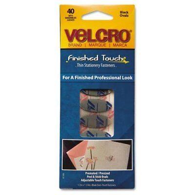 Velcro Black Wafer-thin Fasteners - 0.50