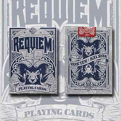 Requiem Winter Deck Playing Cards Poker Size USPCC Custom Limited Edition Sealed