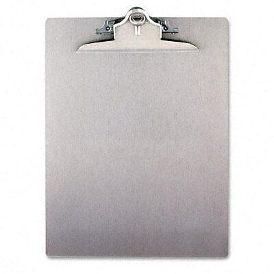 "Saunders Aluminum Clipboard w/High-Capacity Clip, 1"", Silver - SAU22517"