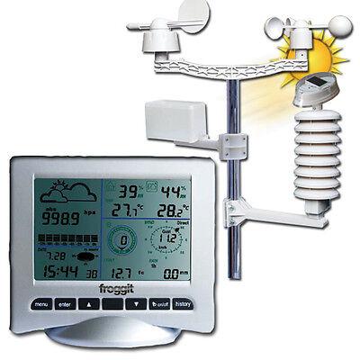 Profi Funk Wetterstation WH3080 SE UV Licht USB Regen Wind