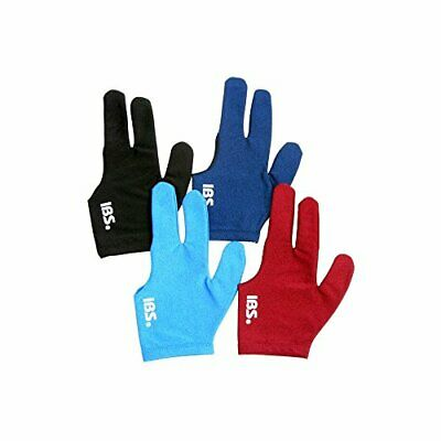 IBS Three Fingers Billiard Gloves Snooker Cue Professional 4 Colors (Spandex)