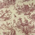 Toile 100% Cotton Craft Fabric Remnants