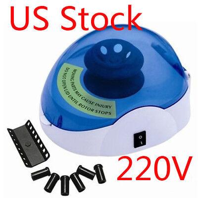Us Laboratory Mini New Medical Centrifuge Machine 0.20.51.52.0ml 5000rpm 220v