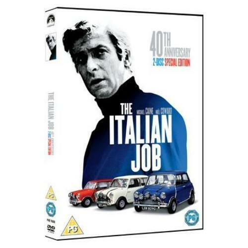The Italian Job Special 40th Anniversary Edition 2 Disc Michael Caine R4 New DVD