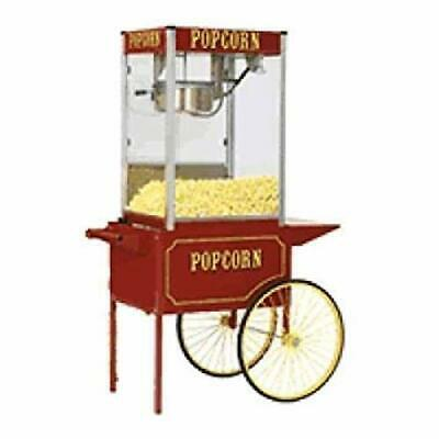 Popcorn Machine Popper Paragon Tp-16 Wcart Theater Pop