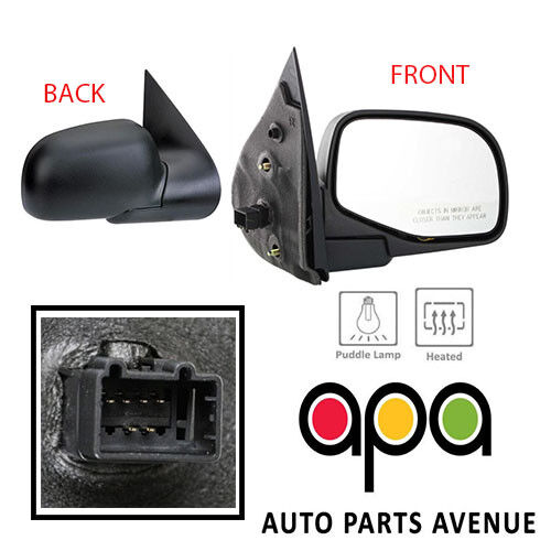 02-05 Explorer Power Non-Heated Lamp Rear View Mirror Left /& Right Side SET PAIR Aftermarket Auto Parts