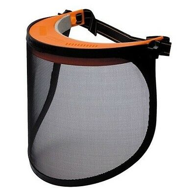 Light Weight Adjustable Steel Mesh Flip Up Face Shield Safety Shield