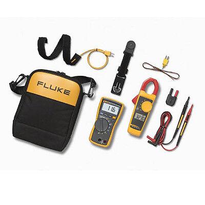 Fluke 116323 Kit Hvac Multimeter And Clamp Meter Combo Kit