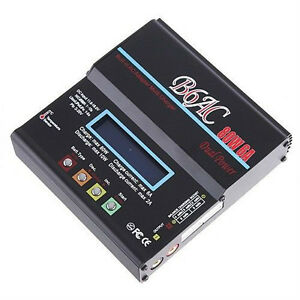 RC NEW Lipo Battery Balance Charger 80W 6A NiCd/MH/LiLo/LiFe
