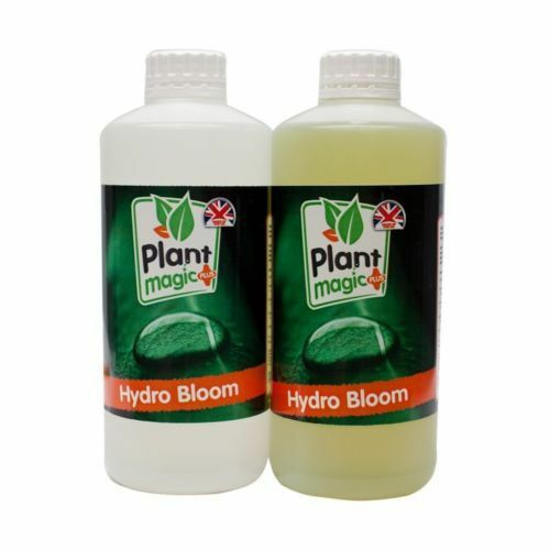 PLANT MAGIC HYDRO BLOOM A+B 1 LITRE HARD WATER