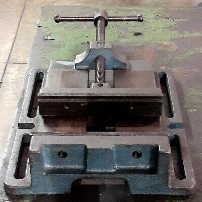 8 Heavy Duty Drill Press Vise Made In Usa No. 8 Precision Heavy Cast Iron