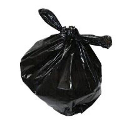 Black Heavy Duty Refuse Sacks 120 Litres Qty 100