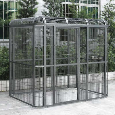 Huge Walk-in Bird Aviary Cage Parrot Macaw Reptile Dog 79Hx86Wx62D Flight Cage