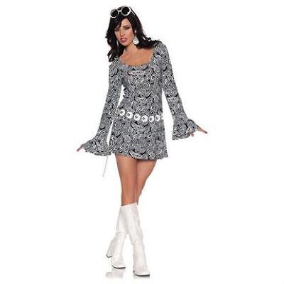 ADULT WOMENS 60'S 70'S RETRO FAB DISCO GO - 70's Mod Kostüme