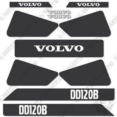 Volvo Dd 120 B Decal Kit Asphalt Compactor Replacement Stickers Dd120b