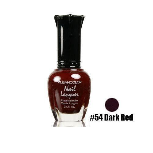 Dark Red Nail Polish: Dark Red Nail Polish