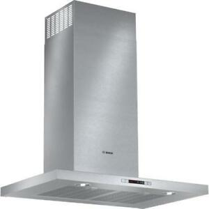 hotte murale 30'' Bosch, stainless