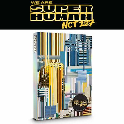 NCT # 127 [WE ARE SUPERHUMAN] 4th Mini Album CD+Photo Book+2p Card K-POP SEALED