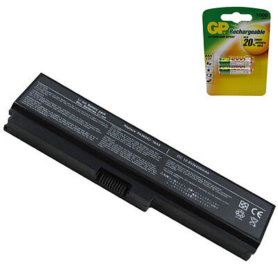 Powerwarehouse Toshiba PA3818U-1BRS Laptop Battery - 6 Cell Free AAA Battery