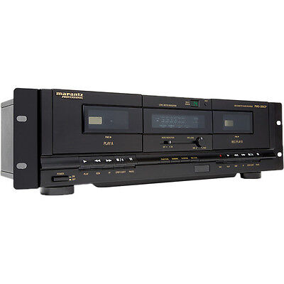 Marantz Professional PMD-300CP Dual Cassette Deck with USB