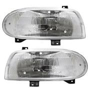 VW Cabrio Headlights