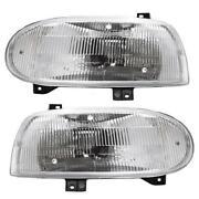 VW Cabrio Headlights