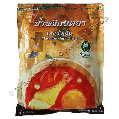 "Nittaya ""Masaman"" Curry Paste - 1kg"