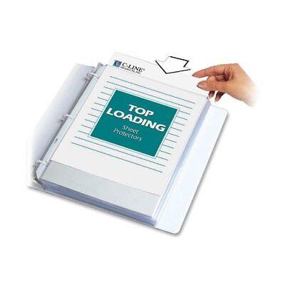 C-line Polypropylene Top Loading Sheet Protector - Letter 8.50 X 11 - 3 X