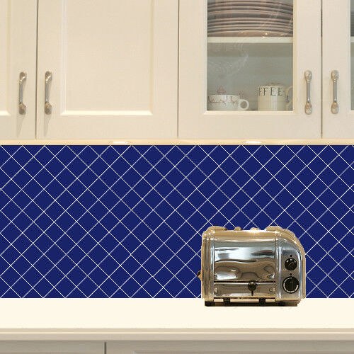 Square Home Tile Vinyl Decals Sticker for kitchen Bathroom W