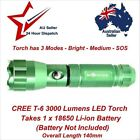 3000-3999 Lumens 18650 Camping & Hiking Flashlights
