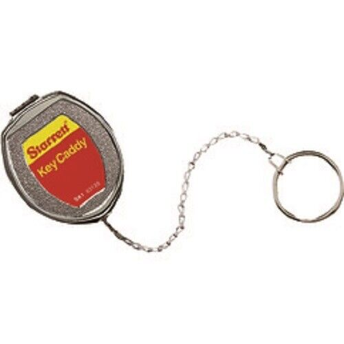 """Starrett Key Caddy SK1 and 21"""" Stainless Steel Chain Belt Clip, 63135"""