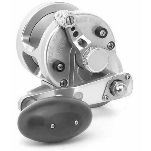 Avet SXJ 5.3:1 Single Speed Reel, Silver