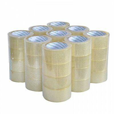 Heavy Duty Sealing Pack Sealing Clear Packing/Shipping/Box Tape 12 Rolls Carton
