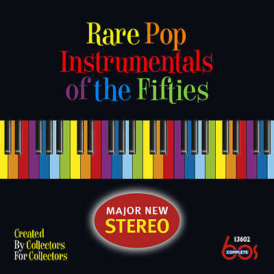 Various Artists - Rare Pop Instrumentals of the Fifties [New CD]](Fifties Rock)
