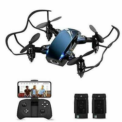 Foldable RC Mini Drone with Camera for Kids, HALOFUNO WiFi FPV Quadcopter with
