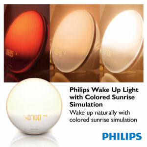 NEW PHILIPS WAKE-UP LIGHT +5 NATURAL SOUNDS HF-3520