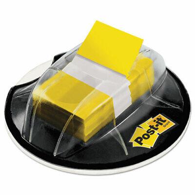 Post-it Flags W Desk Grip Dispenser 1 X 1.7 Yellow 200-flagspack