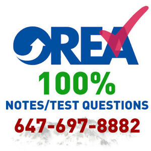 OREA PHASE 2, 3, 4, 5 NOTES & TEST QUESTIONS (GUARANTEED PASS)