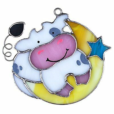 Cow Night Light (SWITCHABLES Stained Glass Night Light Cover, COW JUMPED OVER MOON, New In)