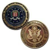 FBI Coin