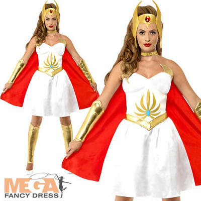 She-Ra Ladies Superhero He-Man Masters of the Universe Womens Adults Costume New - He-man Adult Costume