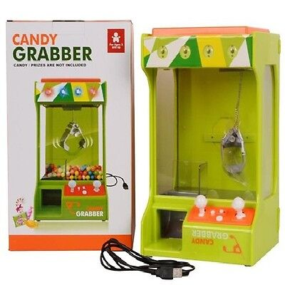 Candy Grabber Crane Machine Skill Game The Claw Catcher Retro Kids Price Toy NEW