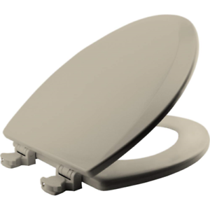 Terrific Bemis 1500Ec146 Molded Wood Elongated Toilet Seat With Easy Clean And Change Pdpeps Interior Chair Design Pdpepsorg
