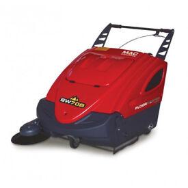 New MAC International Floormaster SW70 Pedestrian Industrial Floor Sweeper (Battery/Petrol Powered)