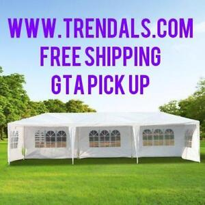 GTA SALE!!!  || NO TAX || Brand New 10x30 ft Large Party Pavilion Event Tents || GTA PICK UP OR WE DELIVER!!
