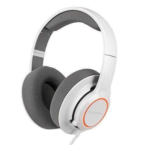 Купить SteelSeries Siberia RAW Prism White Headband Windows Mac PC Gaming Headset New