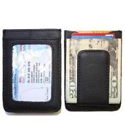 Leather ID Card Holder