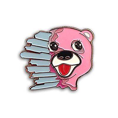 Breaking Bad Shatter Bear Pink Enamel 710 Stoner Pin