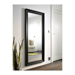 IKEA HEMNES Mirror, black-brown